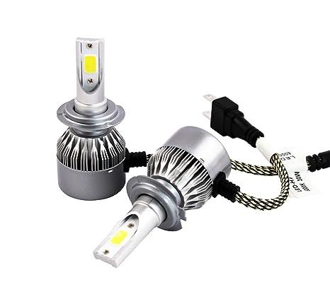 Kit 2 Bombillas LED H7 Faros Luces Delanteros 30W/6000k Blanco Frío 2 pines/