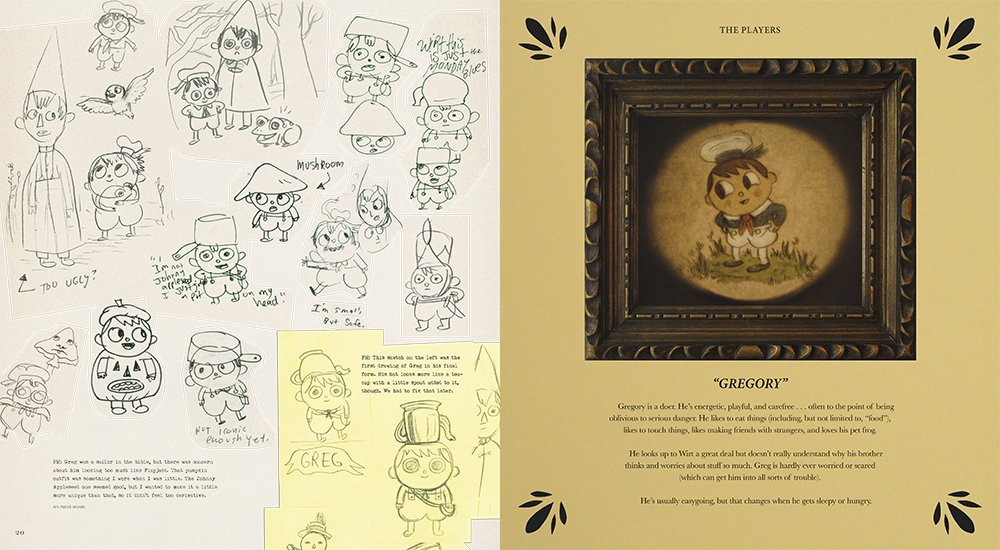 Amazon.com: The Art of Over the Garden Wall (9781506703763): Patrick ...