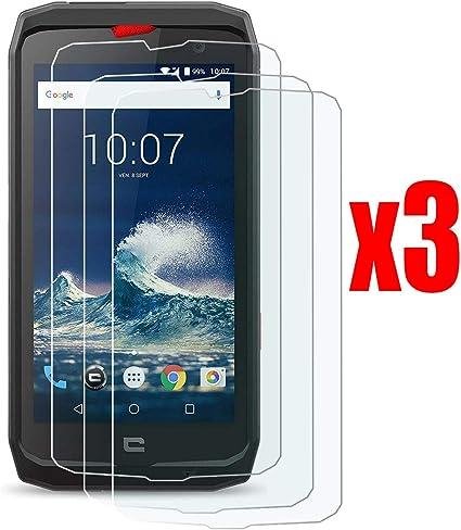 QFSM 3 Pack Película Protectora para Crosscall Action X3, Resistente al Desgaste Protector de Pantalla para teléfono móvil Vidrio Templado: Amazon.es: Electrónica
