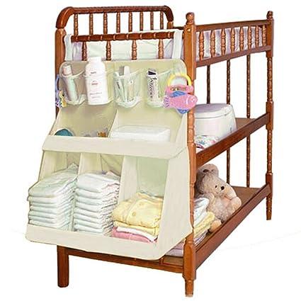 Zicac- Bolsa de Bebé/Estéreo Bolsa de Cuna para Pañales, Ropa y Juguetes