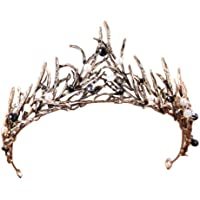 Ice Crown Women's Antique Masquerade Tiaras BELLA VOGUE for Costume Cospaly Photography Shooting