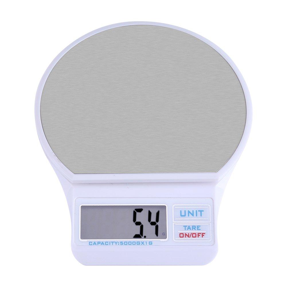 Báscula Digital, Balanza Digital de Cocina, Digital Kitchen Food Scale USB Báscula electrónica de peso preciso con pantalla LCD y precisión de precisión ...