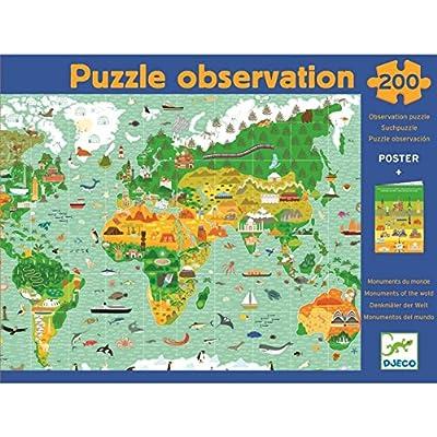 Puzzle Dosservazione Il Giro Del Mondo