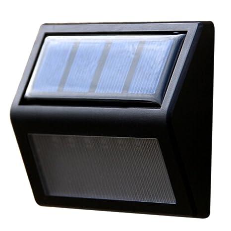 UEB 6LED Solar Luz LED Inalámbrico - Impermeable- con Sensor de Movimiento para Exteriores incluyendo