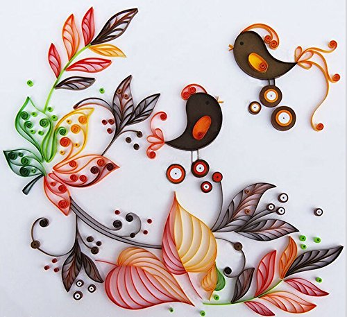 Kitchen Set Quilling: DIY Quilling Paper Set / Color Paper / New Paper Drawing