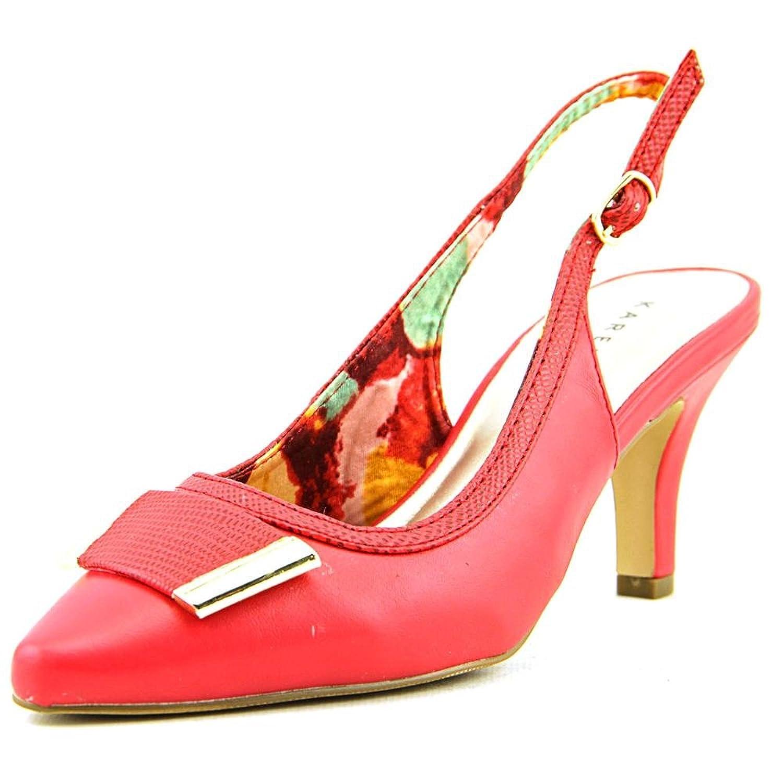 well-wreapped Karen Scott Gracelynn Women US 8 Red Slingback Heel