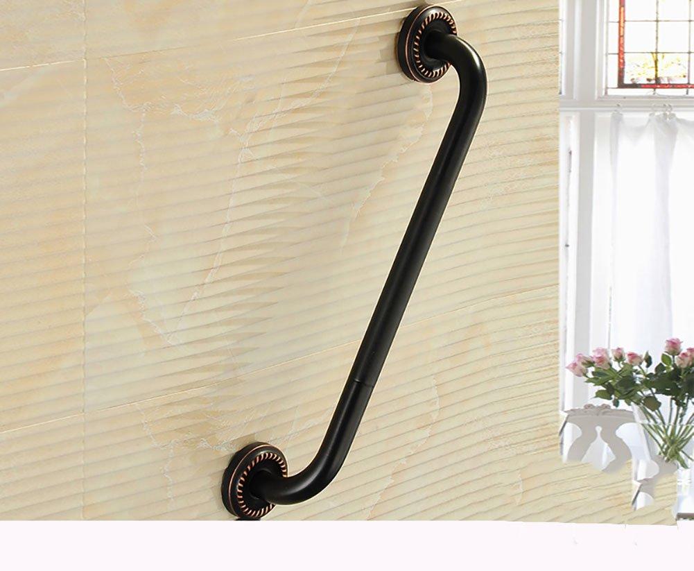ブラックアンティークブロンズ手すり浴室の安全古いハンドル彫刻ベース51cm ( 色 : B ) B07CNZPGM8  B