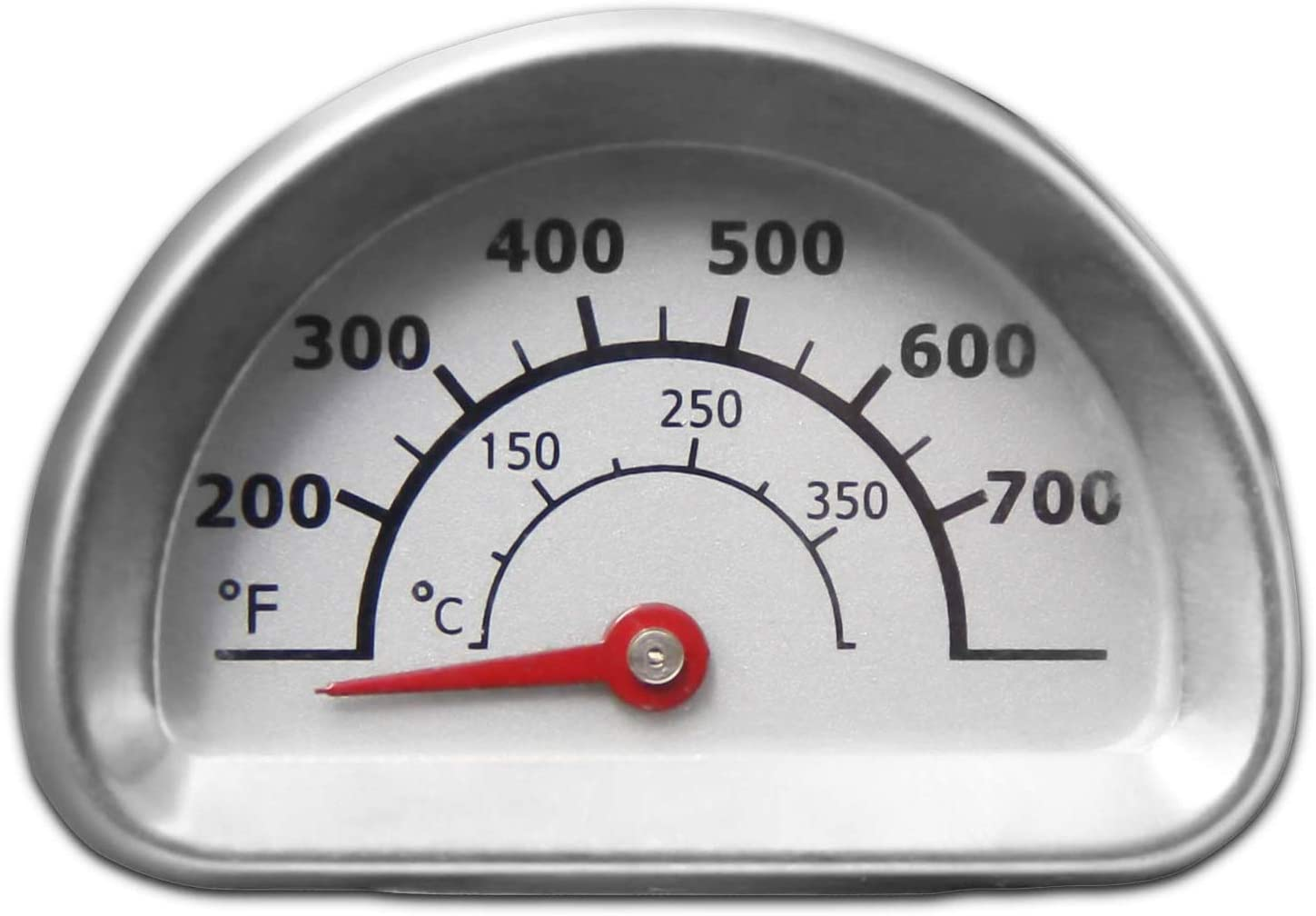 Temperature Gauge Temp Gauge Replacement for Select Charbroil and Kenmore Gas Grill Models Thermometer Hongso Stainless Steel Repair Parts Heat Indicator TG473