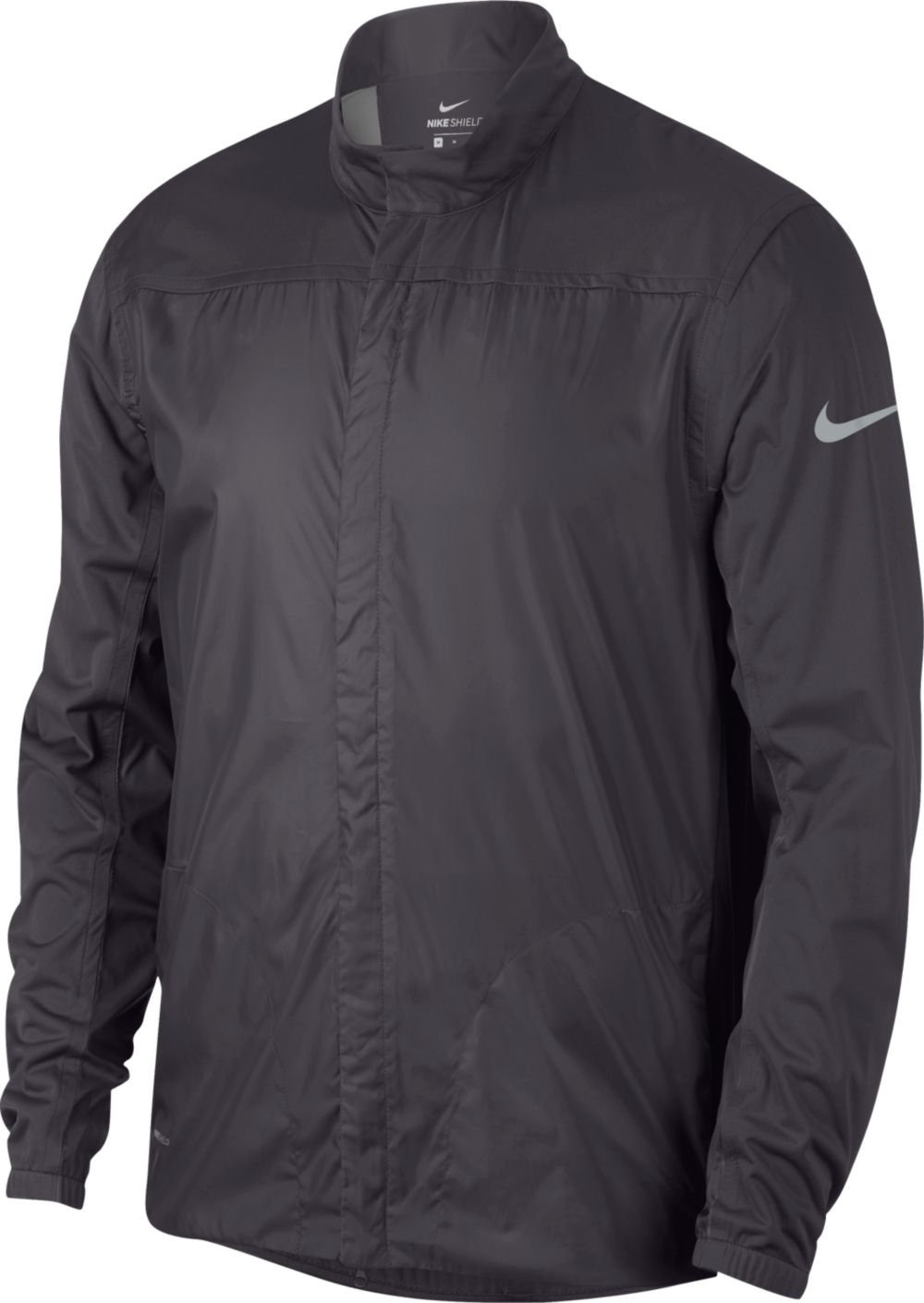Nike Shield Full Zip Core Golf Jacket 2018 Gunsmoke/Black X-Large