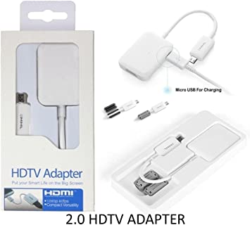 MHL 2,0 Micro USB a HDMI 11 pin adaptador para Samsung Galaxy S5 ...