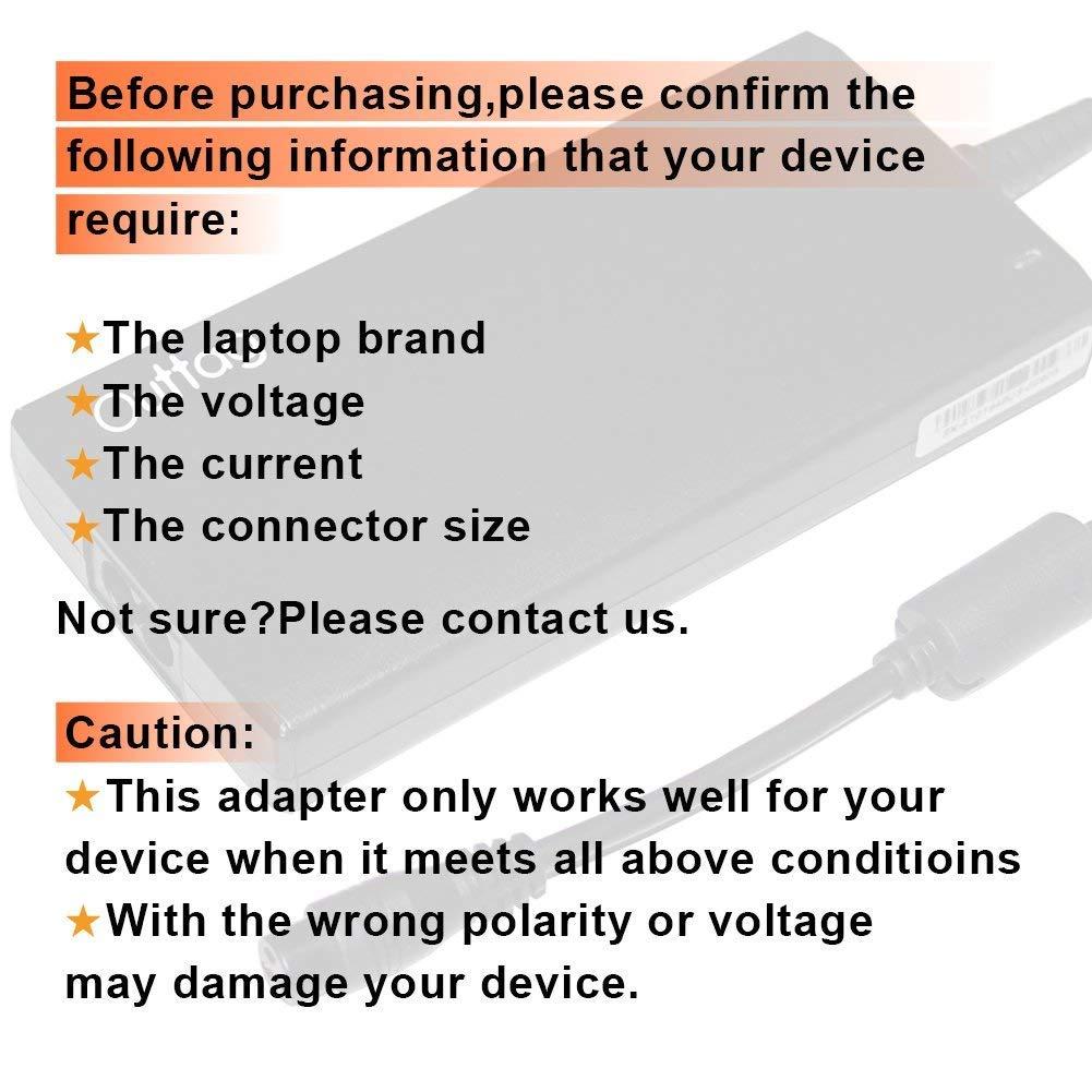 Outtag 19V Slim Laptop Power Adapter Charger 75W 65W 45W 40W 30W for Toshiba Chromebook CB30-A, CB35-A,CB30-B,CB35-B,CB35-C;Mini NB505,NB520,NB200,Chromebook2 Satellite Click 2Pro L35W,P30W,P35W,W35DT