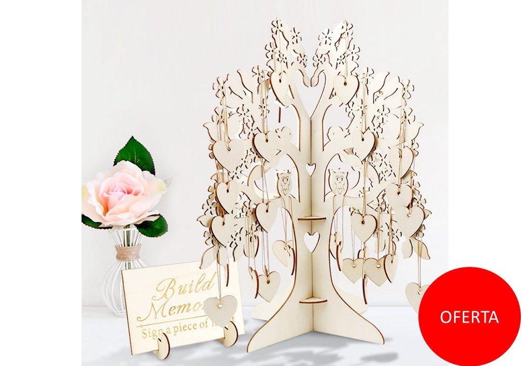 Árbol de los deseos para bodas o comuniones. Personalizado