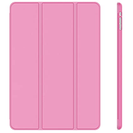 JETech Case for iPad Mini 1 2 3 (NOT for iPad Mini 4), Smart Cover with Auto Sleep/Wake, Pink