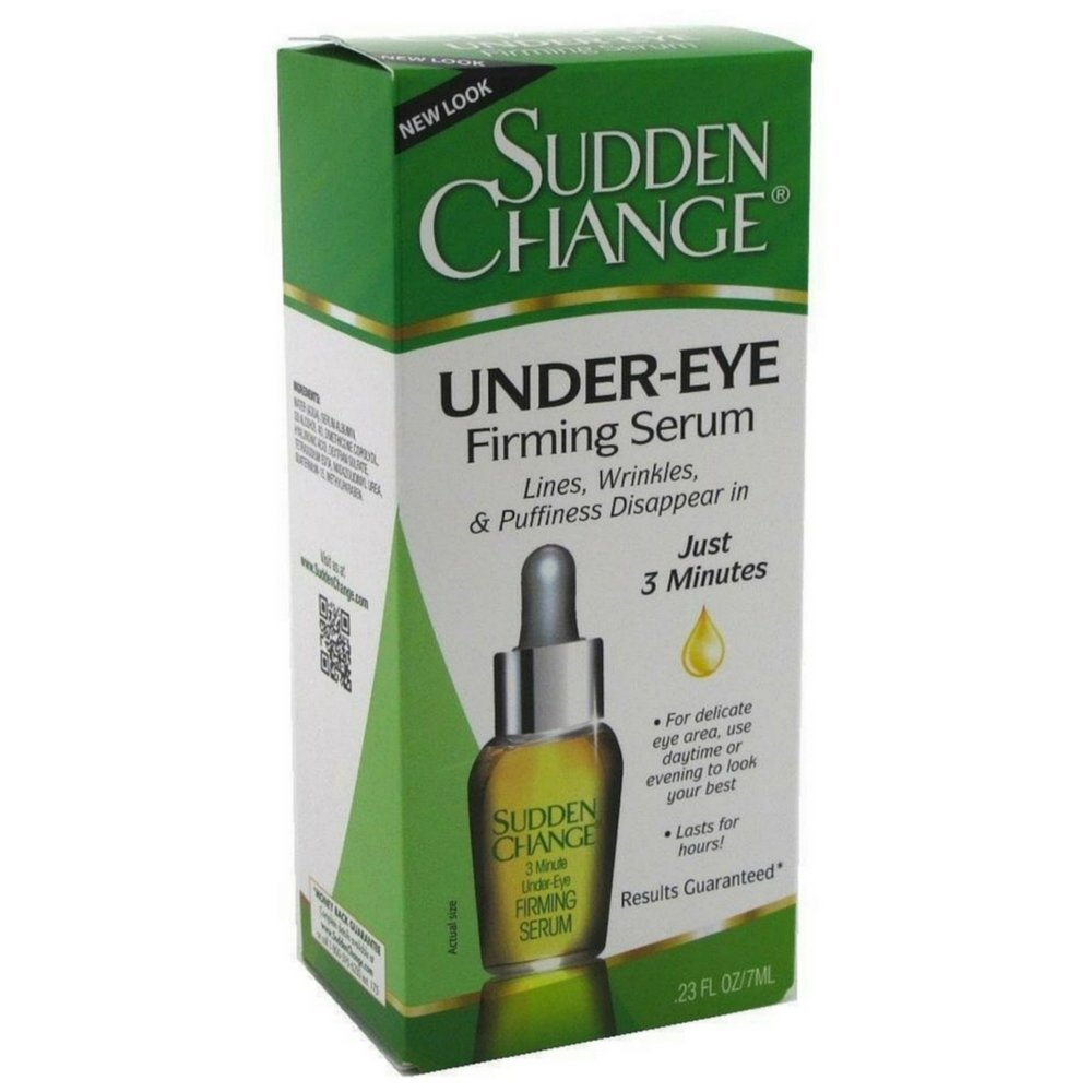 Sudden Change Under-Eye Firming Serum 0.23 Ounces by Sudden Change