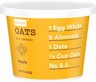 product image for RXBAR, Rx A.M. Oats, Maple, 12ct, 2.18oz Cups, 12 Gluten Free Oatmeal Cups