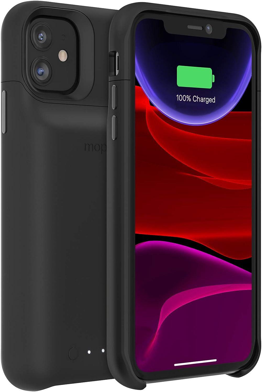 mophie Juice Pack Access - Carcasa para iPhone 11 (ultrafina, inalámbrica), color negro: Amazon.es: Electrónica