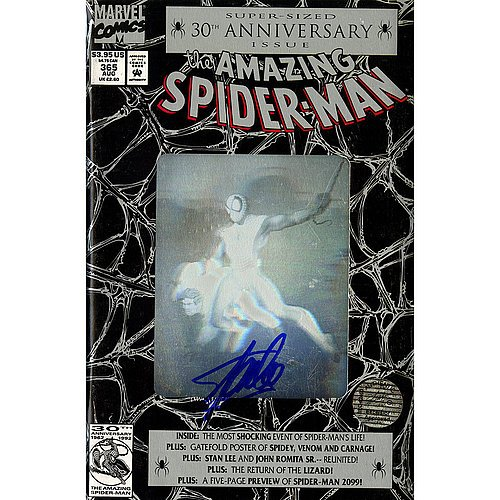 Stan Lee Signed Amazing Spiderman 30th Anniversary Special Comic Book - Certified Authentic Autograph