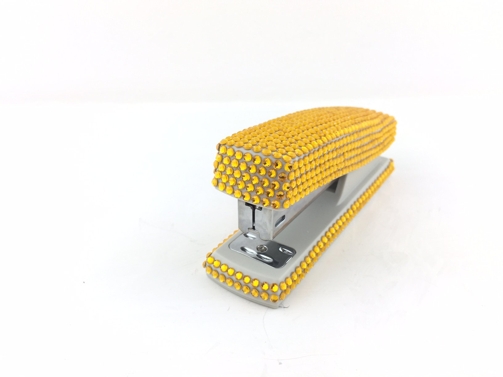 blingustyle Sparkly Diamante Crystal Stapler For Office/Home Gold by blingustyle (Image #3)