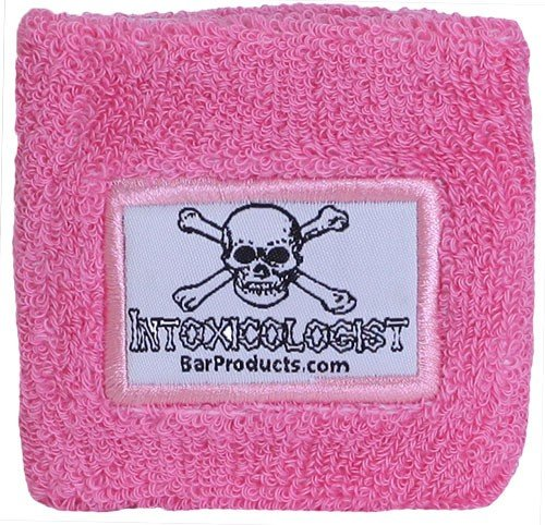 Pink Armband with Intoxicologist Patch -