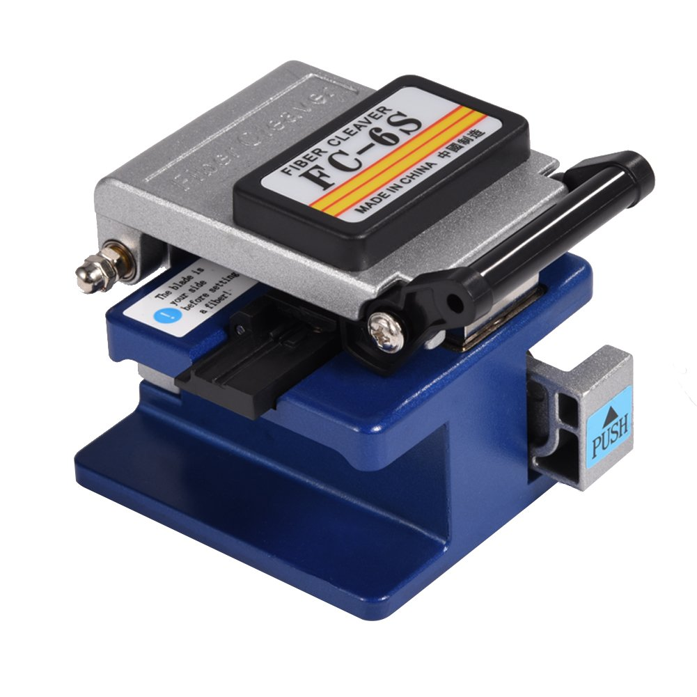 FC-6S Fiber Cleaver FTTH Assembly Optical Fiber Termination Tool Kit by Walfront (Image #3)