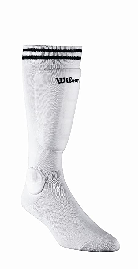 Amazon.com : Wilson Pee Wee Sock Guard (Black) : Soccer Shin Guards : Sports & Outdoors