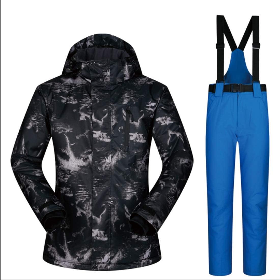 LilyAngel メンズマウンテン防水スキージャケットwindproofレインジャケット  Medium