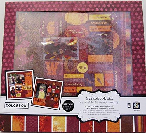 Colorbok Scrapbook Kit - Autumn Fields (Colorbok Kit Scrapbook)