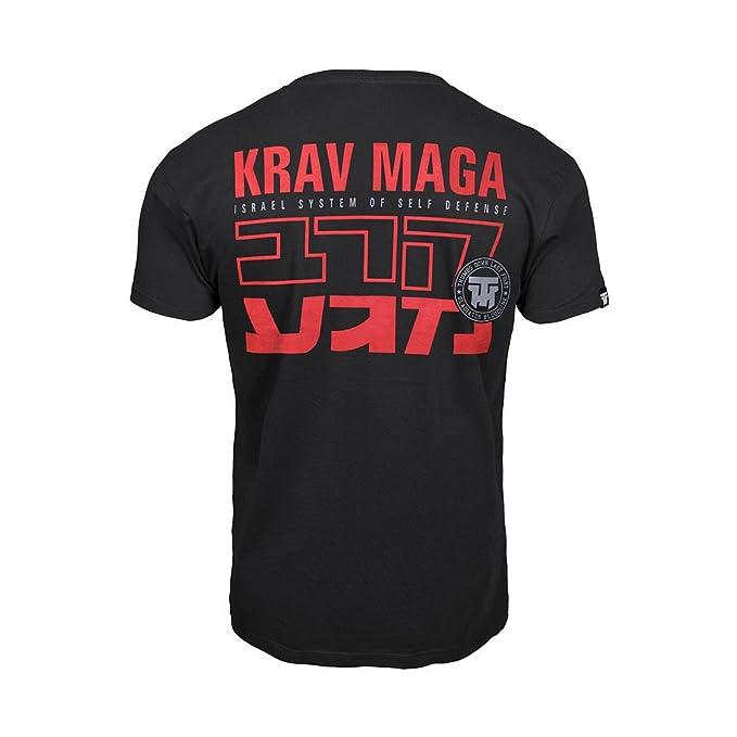 Thumbsdown Pulgares Down Krav Maga Camiseta Israel Sistema de Auto Defensa MMA. Gimnasio Entrenamiento. Marcial… 7t8Ov0pX