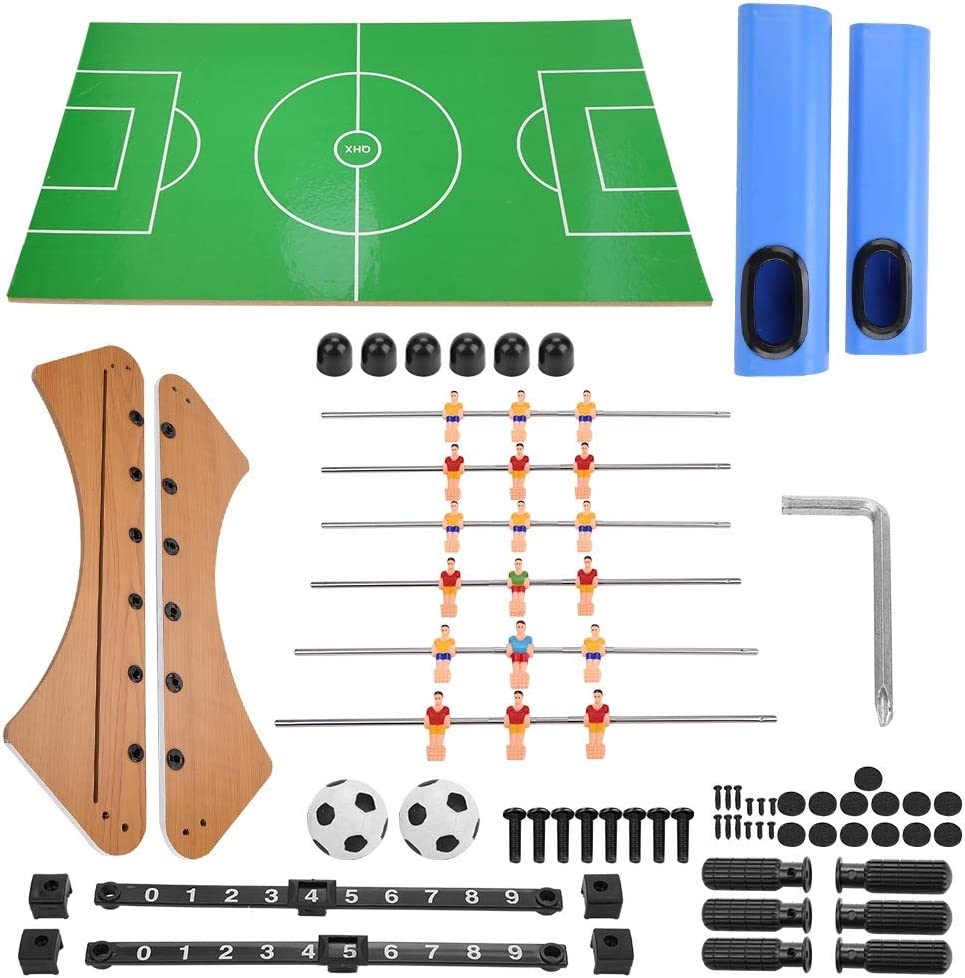 Josopa Juego de mesa de fútbol juego de fútbol, niños interesantes de fútbol juegos de mesa interactivos juguetes regalos de cumpleaños