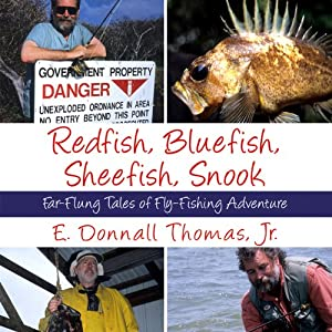 Redfish, Bluefish, Sheefish, Snook Audiobook