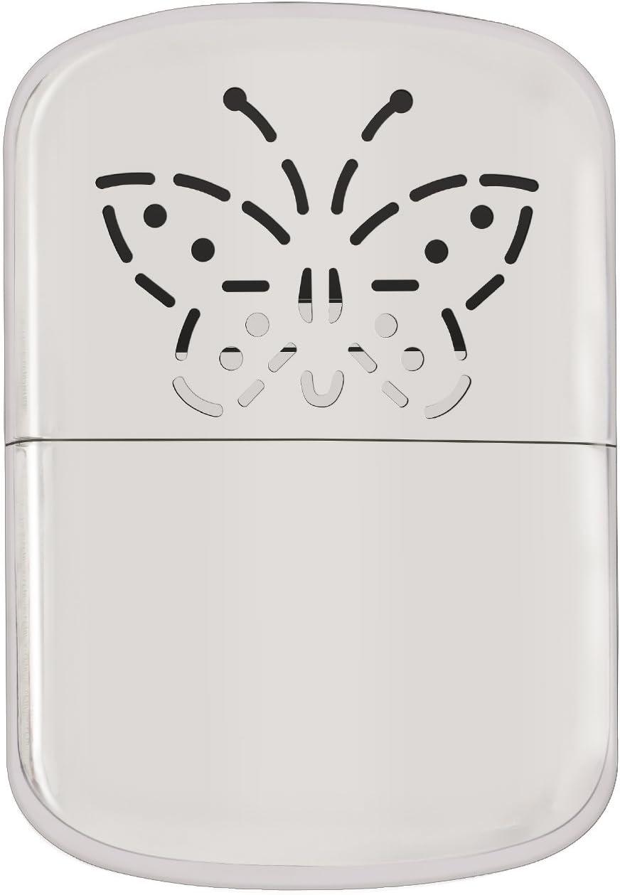 Aookey Calentador de Manos Reutilizables Sin Llama, Profesional Mini Metal Calentador con Bolsa de Almacenamiento, para Actividad al Aire Libre Esquí ...