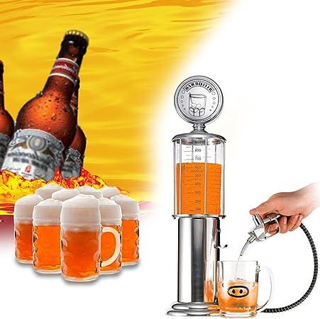 FYQF Dispensador De Agua De Cerveza, Recipiente para Beber, Bomba De Un Solo Cabezal Y Diseño