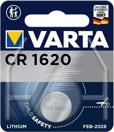 5 x 3V Lithium Batterie CR 1620 Knopfzelle CR1620