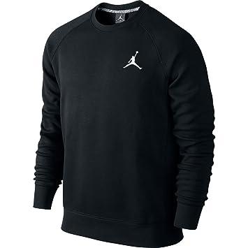 Nike Jumpman Brushed Crew - Camiseta para hombre, color negro/blanco, talla 2XL: Amazon.es: Zapatos y complementos