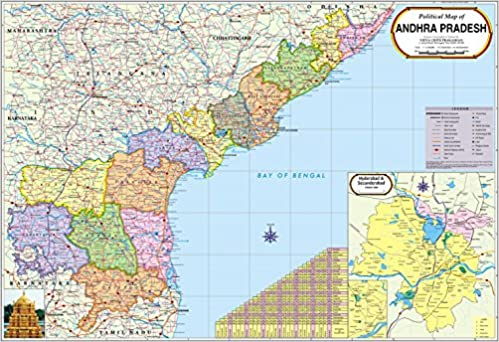 Buy Andhra Pradesh Map Book Online at Low Prices in India | Andhra on