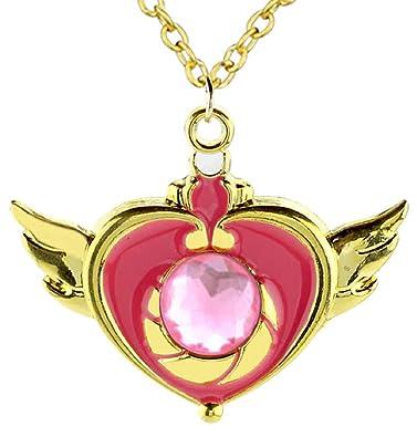 Lovelegis Collar Sailor Moon - Corazón - Alas - Piedra ...