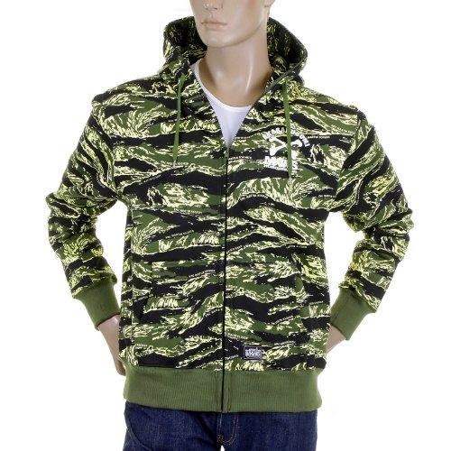 RMC Martin ksohoh mkws Tigre Veste à capuche pour homme Motif camouflage redm2305