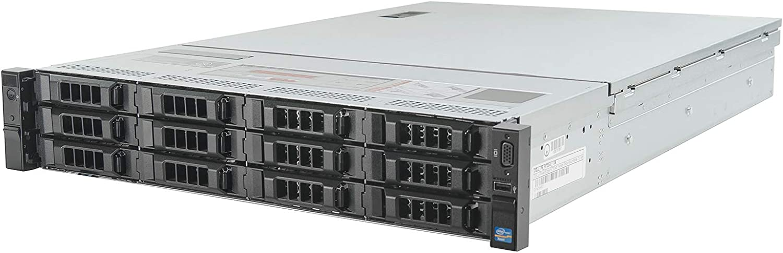 Dell PowerEdge R720xd Server 2.60Ghz 12-Core 192GB 2X 450GB 15K (Renewed)