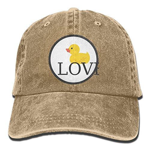 GqutiyulU Duck Love Adult Cowboy Hat Natural]()