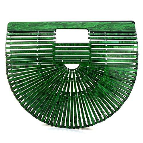Femme Bag Toyis Main Sacs À Green Crossbody wRwOfqaX