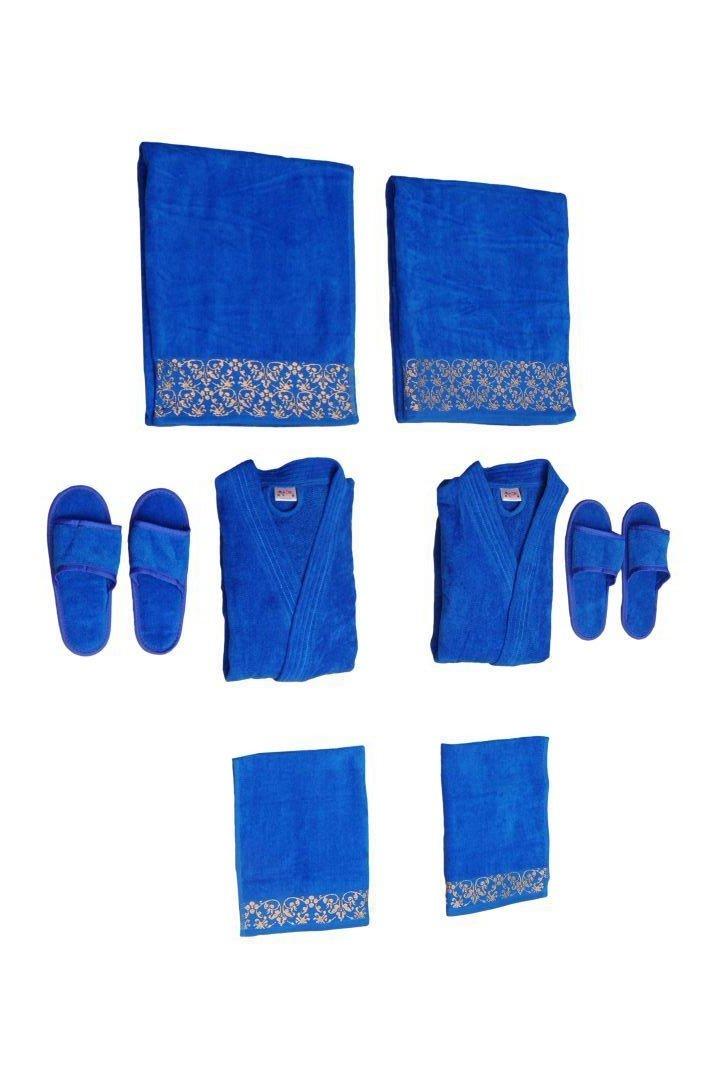 CDM product TRADITIONAL MAFIA RSESBT878721 8 Piece Wedding Couple Set, Blue big image
