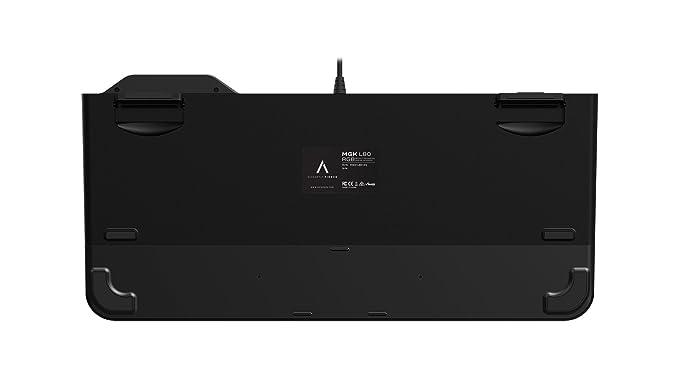Azio MGK L80 RGB - Teclado mecánico para Jugadores: Amazon.es: Electrónica