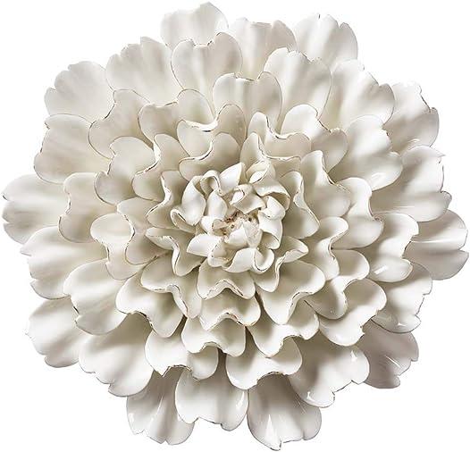 Vivaterra Ceramic Wall Flower