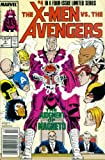 img - for The X-Men Vs. The Avengers #4: Day of Judgment (Marvel Comic Book 1987) book / textbook / text book