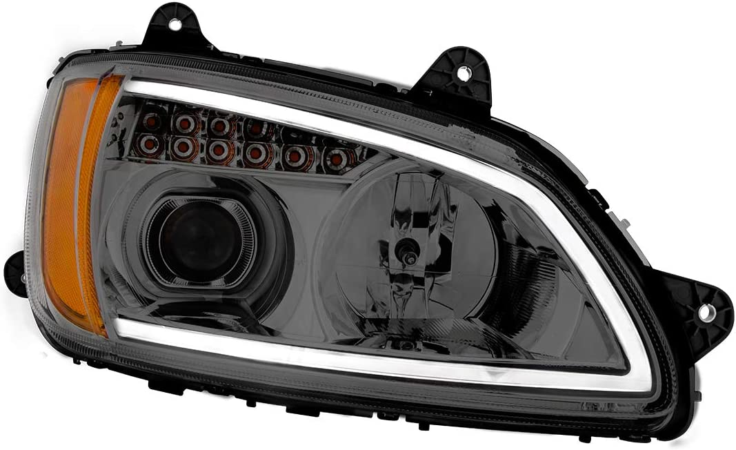 Clear Projection with LED Turn//Position, D//S,Kw T660 08+ GG Grand General 89440 Headlight