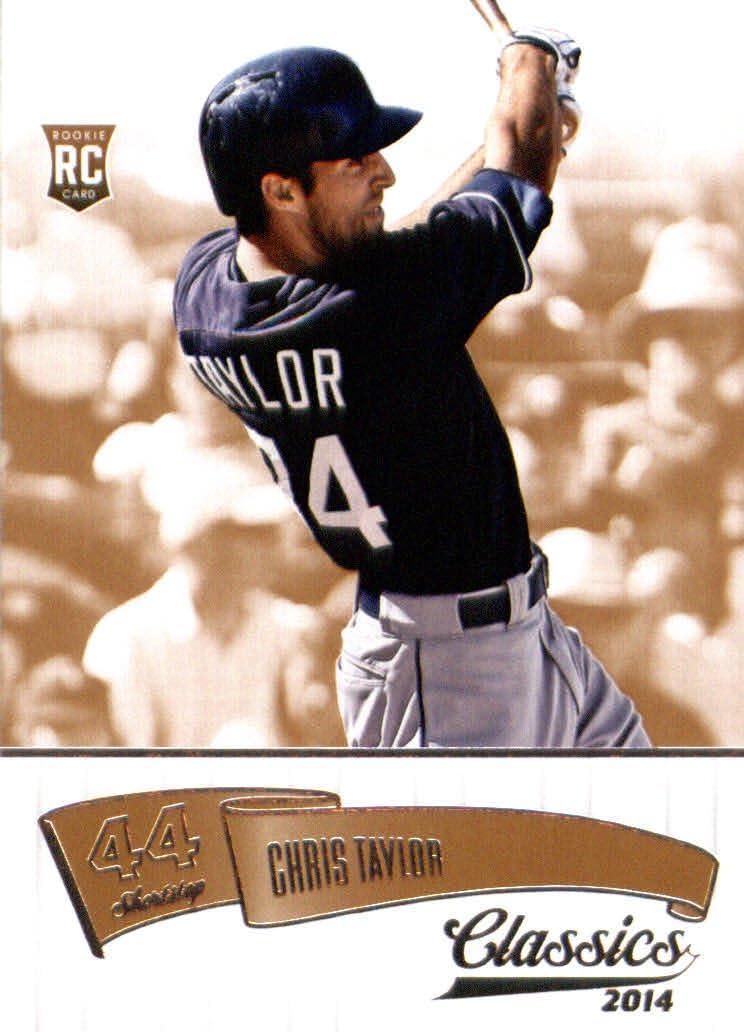 2014 Panini Classics #196 Chris Taylor Baseball Rookie Card