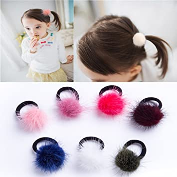 Amazon.com  (7pcs Pack) Hair Bands 5cd622b8de4