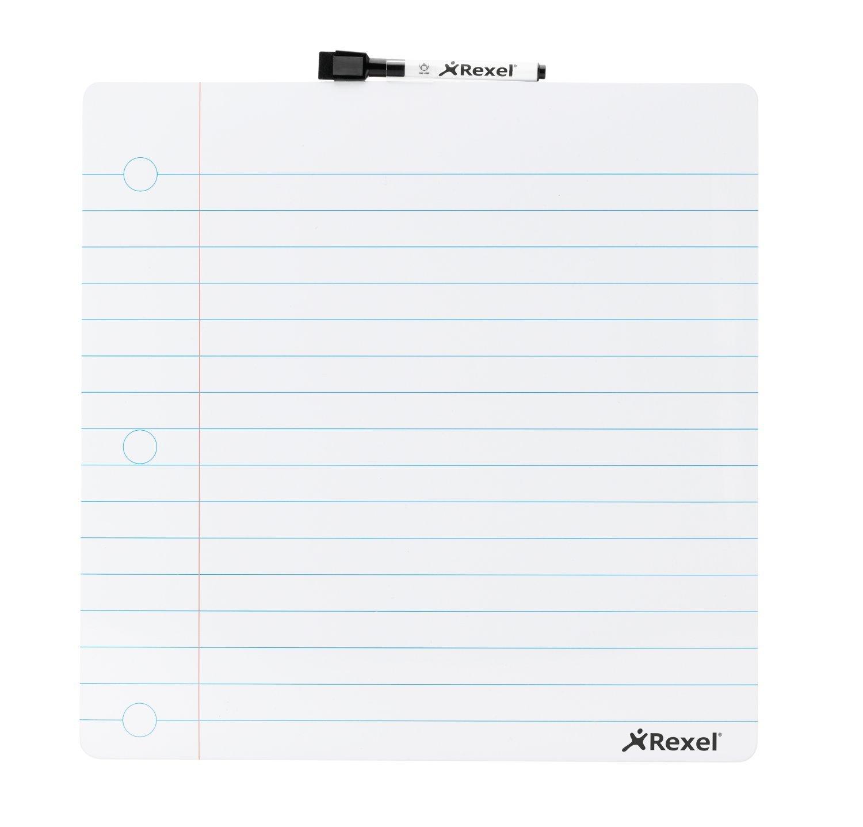 Rexel 2104174 - Pizarra, borrador en seco y bloc de notas ...