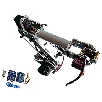 Baosity DIY Robotic Arm kit 6-Axis Servo Control with BT