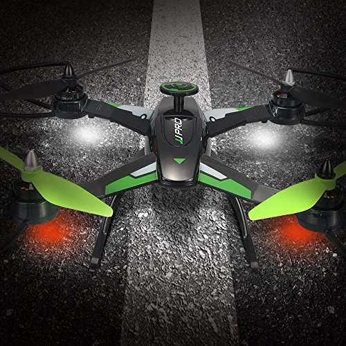 JJRC X1 RC Drone With D1806-2280KV Brushless Motor RC Helicopter 2.4G 4CH 6-Axis RC Quadcopter RTF (No Camera) - Green